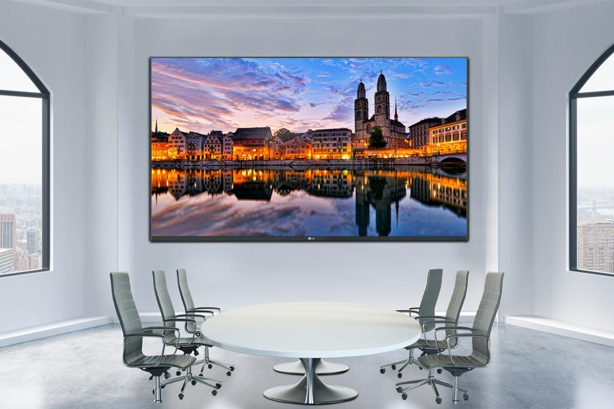 lg reinventa las salas de reuniones con su nueva pantalla led allinone