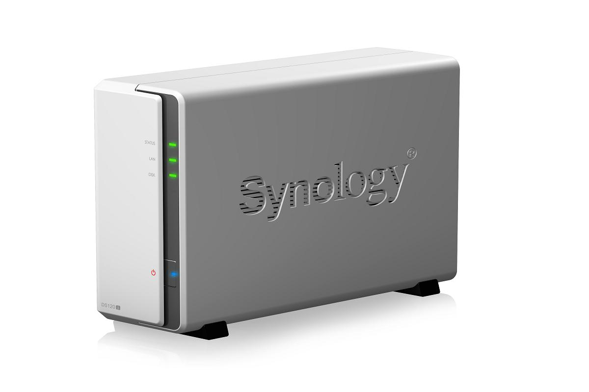 synology lanza diskstation ds120j para el backup de datos personales
