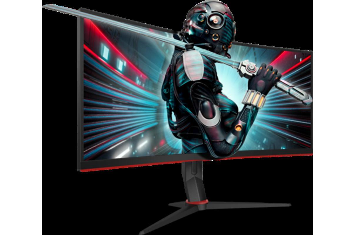 aoc cu34g2x y cu34g2 adntrate en el universo gamer con los monitores curvos y ultraanchos