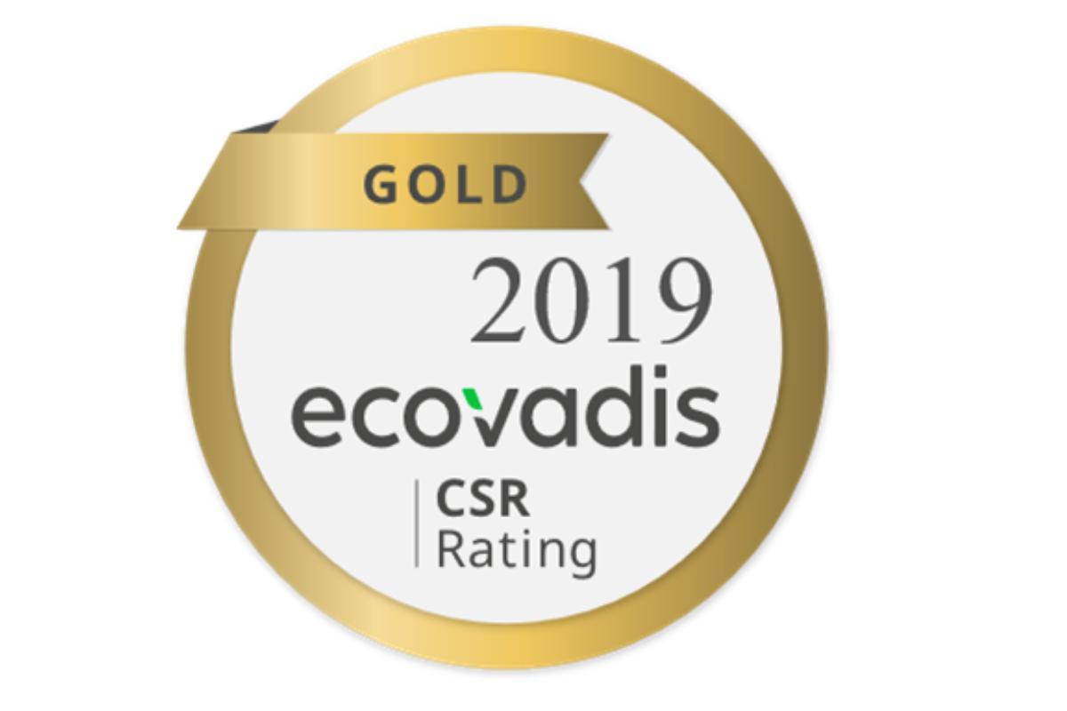 epson recibe el sello gold de ecovadis por su compromiso con la sostenibilidad
