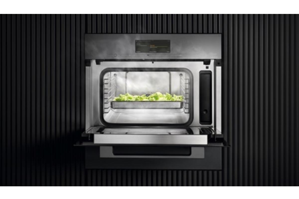 miele dgm los hornos todo en uno que combinan vapor con microondas