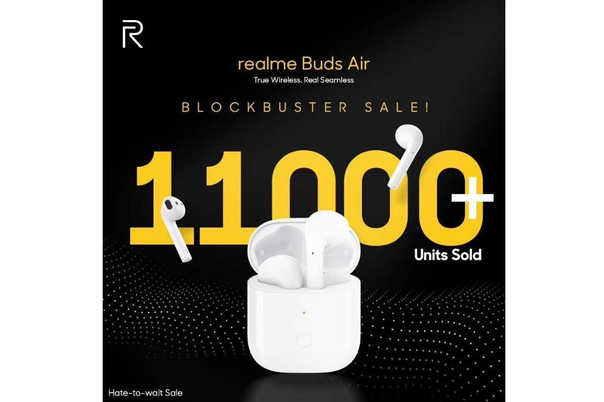 realme-buds-air-record-de-ventas-en-india-11000-unidades-vendidas-en-1-hora