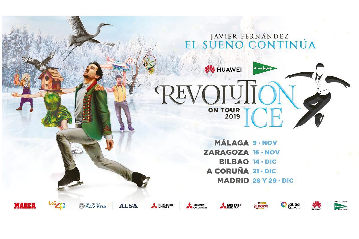 revolution on ice tour 2019 el espectculo de patinaje patrocinado por mitsubishi electric