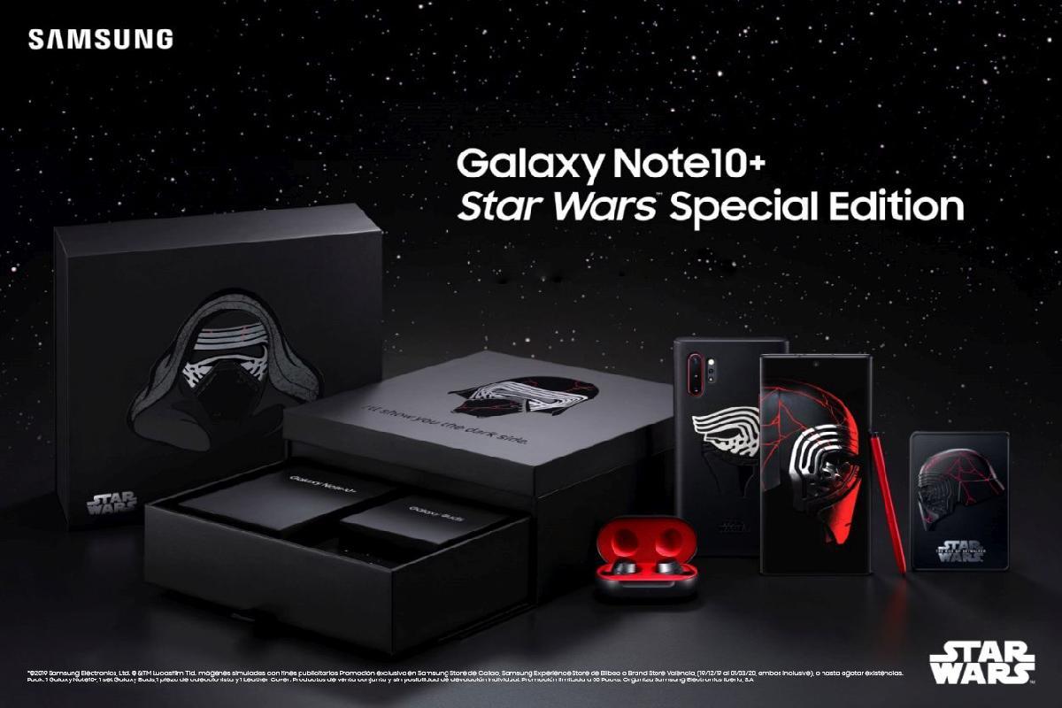 samsung lanza galaxy note10 star wars la edicin especial del smartphone de otra galaxia