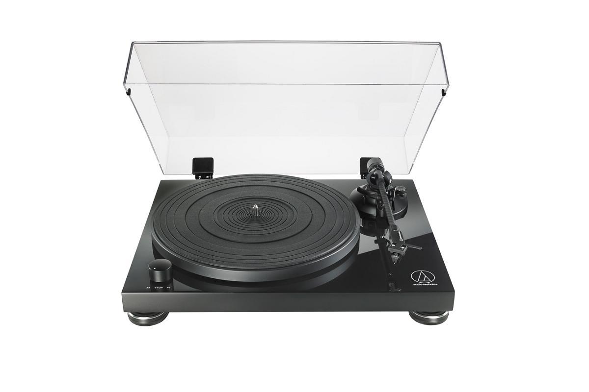 audiotechnica atlpw50pb el giradiscosem vintageem con sonido de alta fidelidad