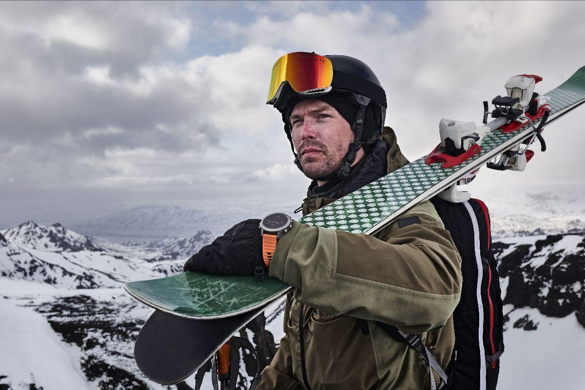 garmin fenix 6 el reloj con carga solar para mejorar el rendimiento en la nieve