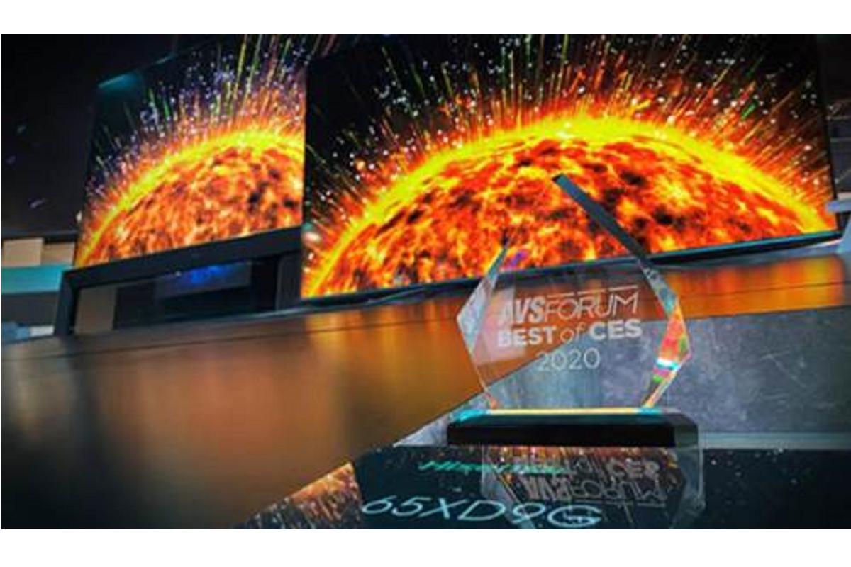 hisense uled xdg9 reconocido como lo mejor de ces 2020 por su tecnologa y diseo