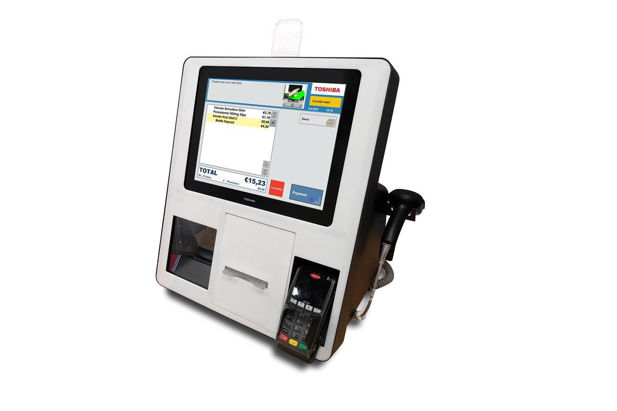 kiosco autoservicio light de toshiba un equipo compacto para el pequeo comercio
