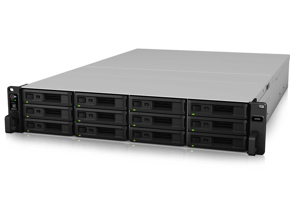 sa3600 de synology servidor de almacenamiento empresarial con capacidad de petabyte