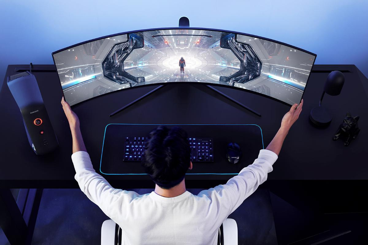samsung eleva el emgaming ema otro nivel con odyssey los monitores curvos con experiencia inmersiva