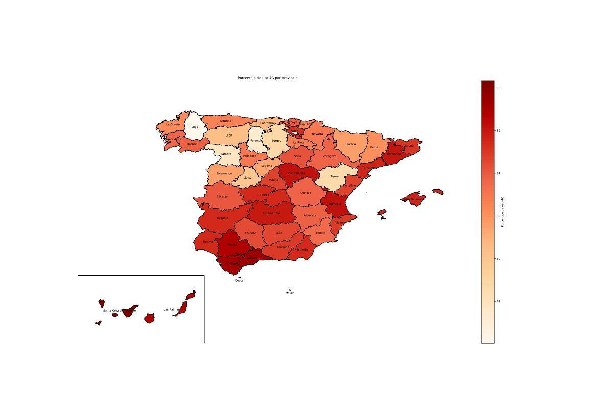 andaluca comunidad valenciana catalua baleares y canarias lderes en el uso del 4g