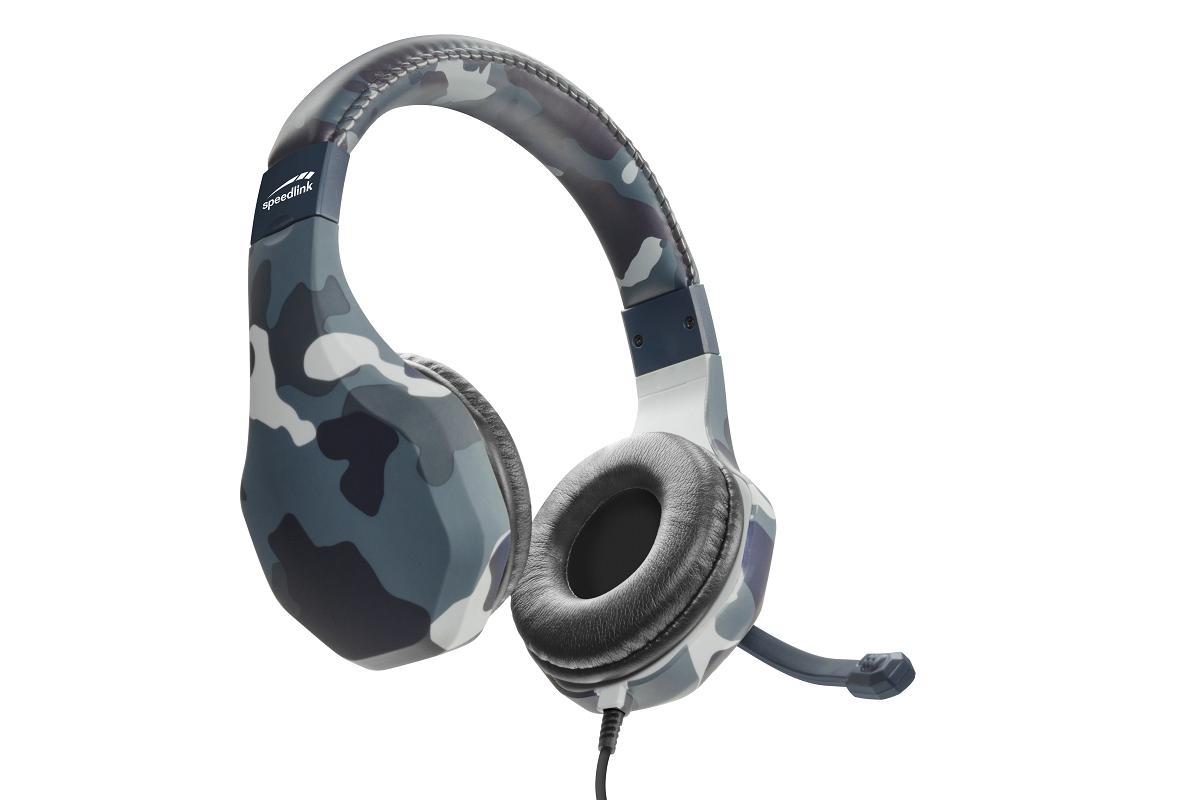 auriculares de camuflaje speedlinksupsup raidor la experiencia emgaming emen todo su esplendor