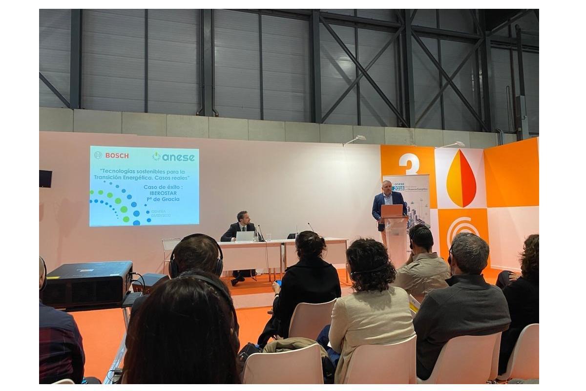 bosch termotecnia muestra su compromiso con las eses participando en genera 2020