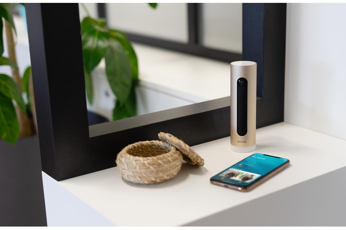 la cmara interior inteligente de netatmo es compatible con homekit secure video