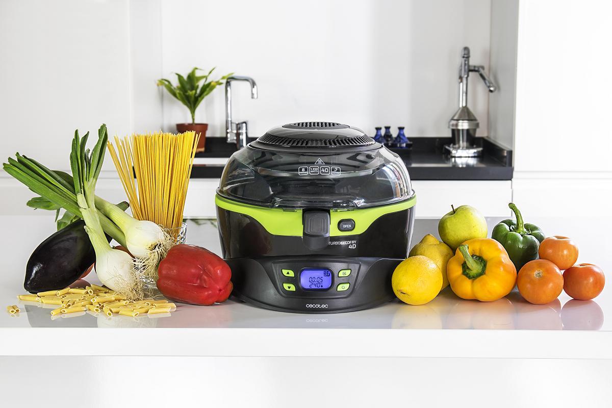 cecotec convierte la cocina sana en una tarea muy sencilla