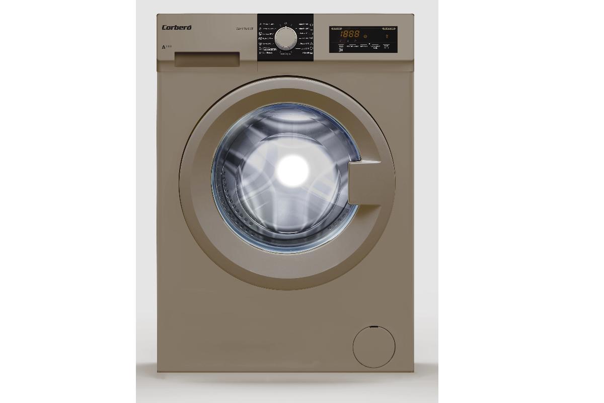 corber presenta la lavadora clav7149xt de 7kg y con clasificacin energtica a