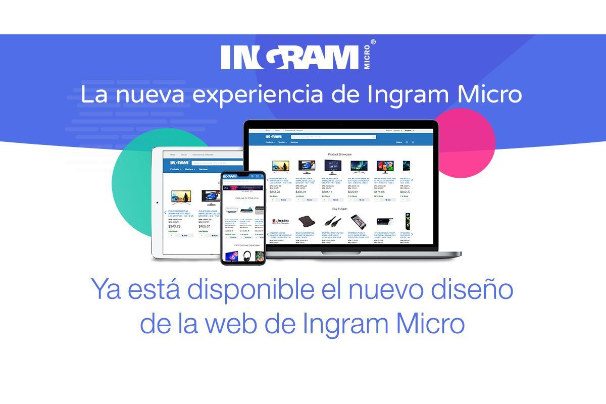 ingram micro renueva su web para mejorar la experiencia del cliente
