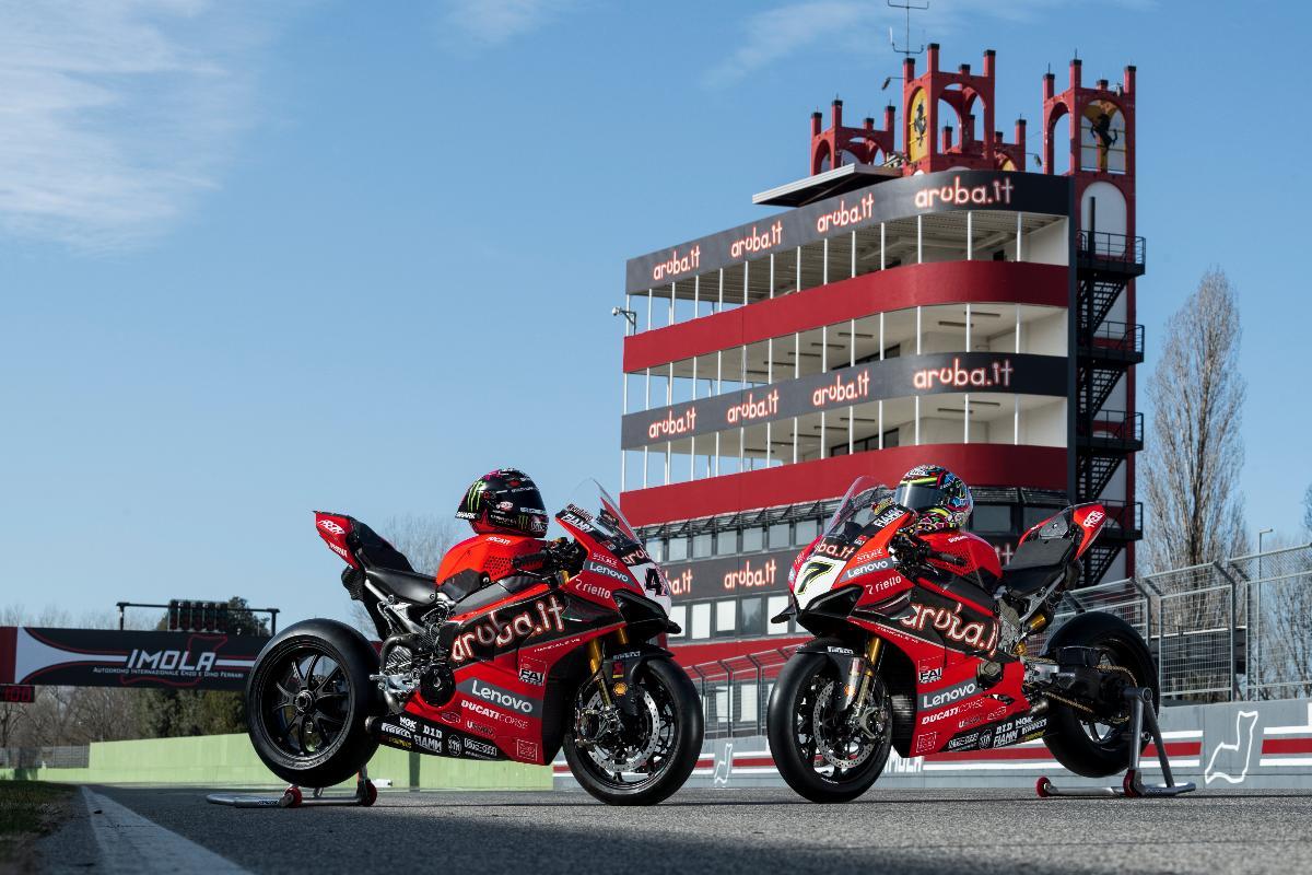 lenovo y arubait patrocinadores de ducati superbike 2020