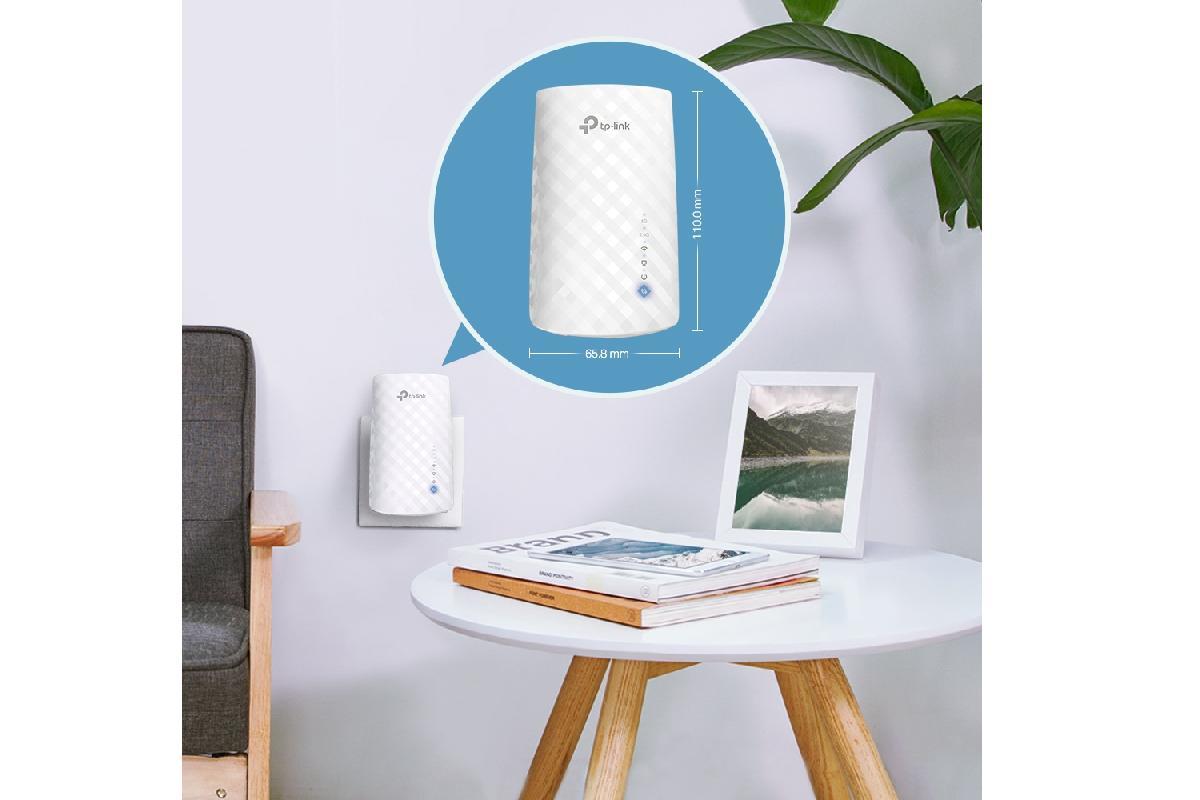 re190 de tplink el extensor wifi con onemeshsuptm supy hasta 750 mbps