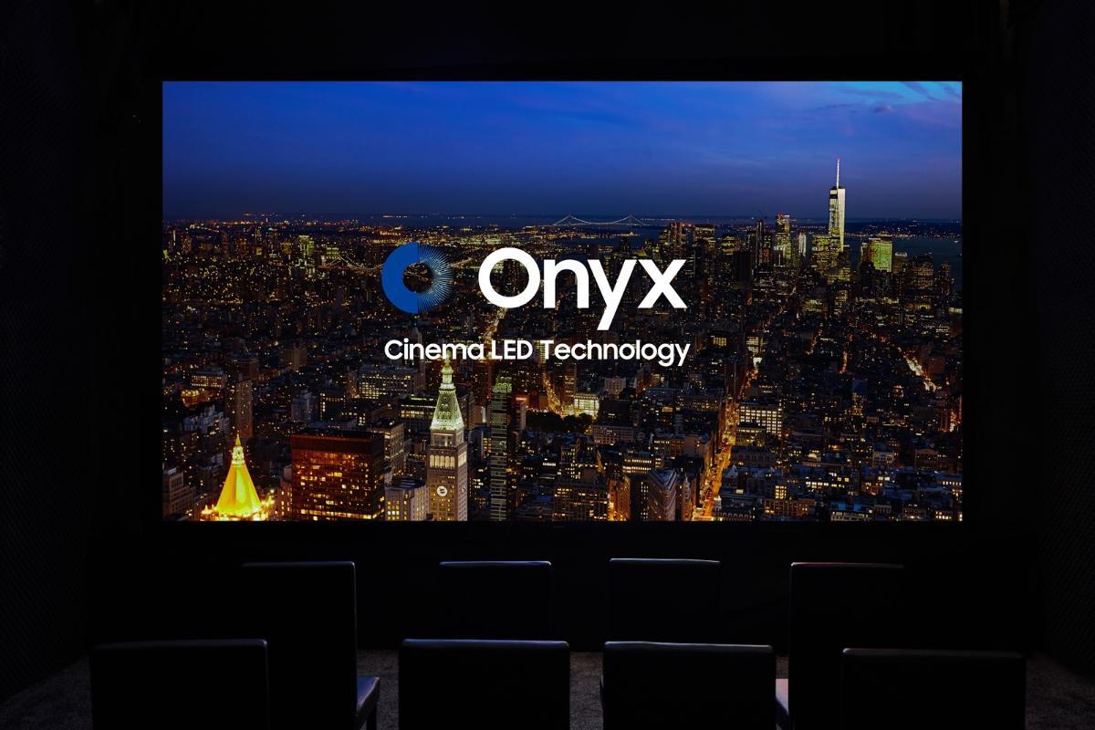 samsung exhibe su pantalla led onyx en los cines hoyts en sydney