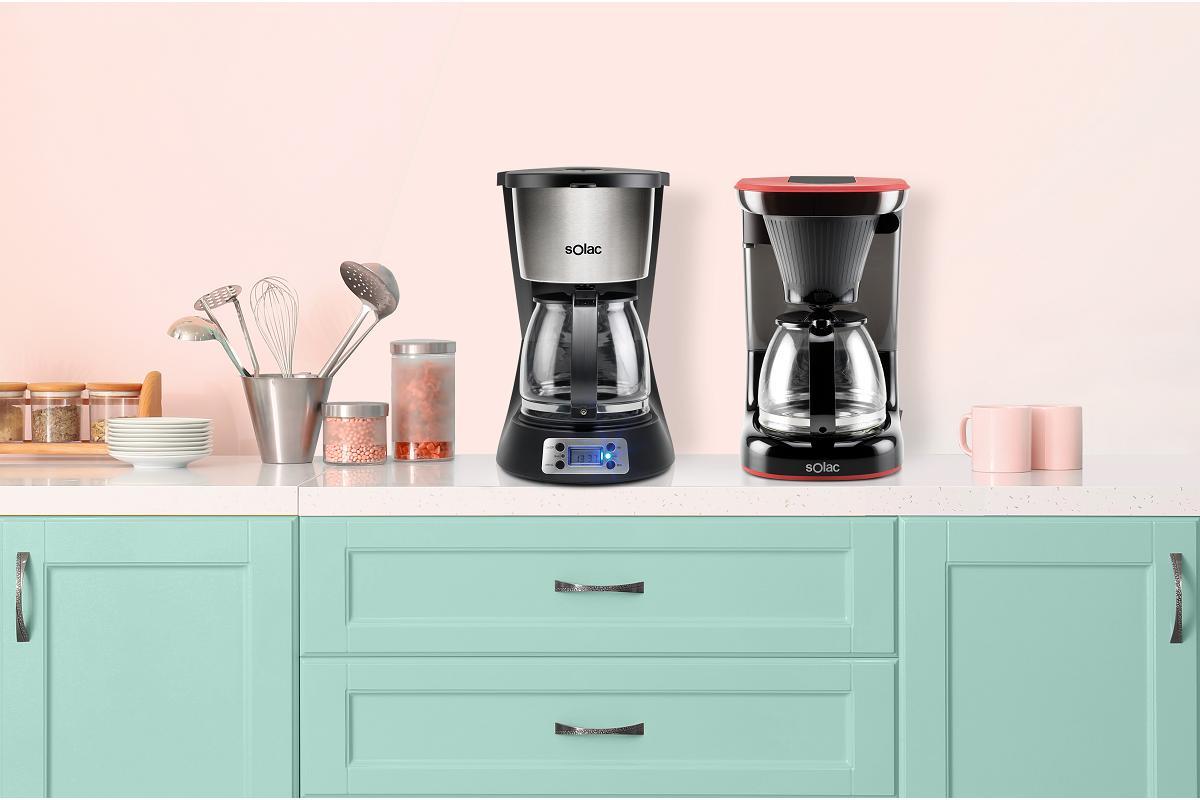 cafeteras de goteo stillo digital y stillo drip de solac el caf con todo su aroma