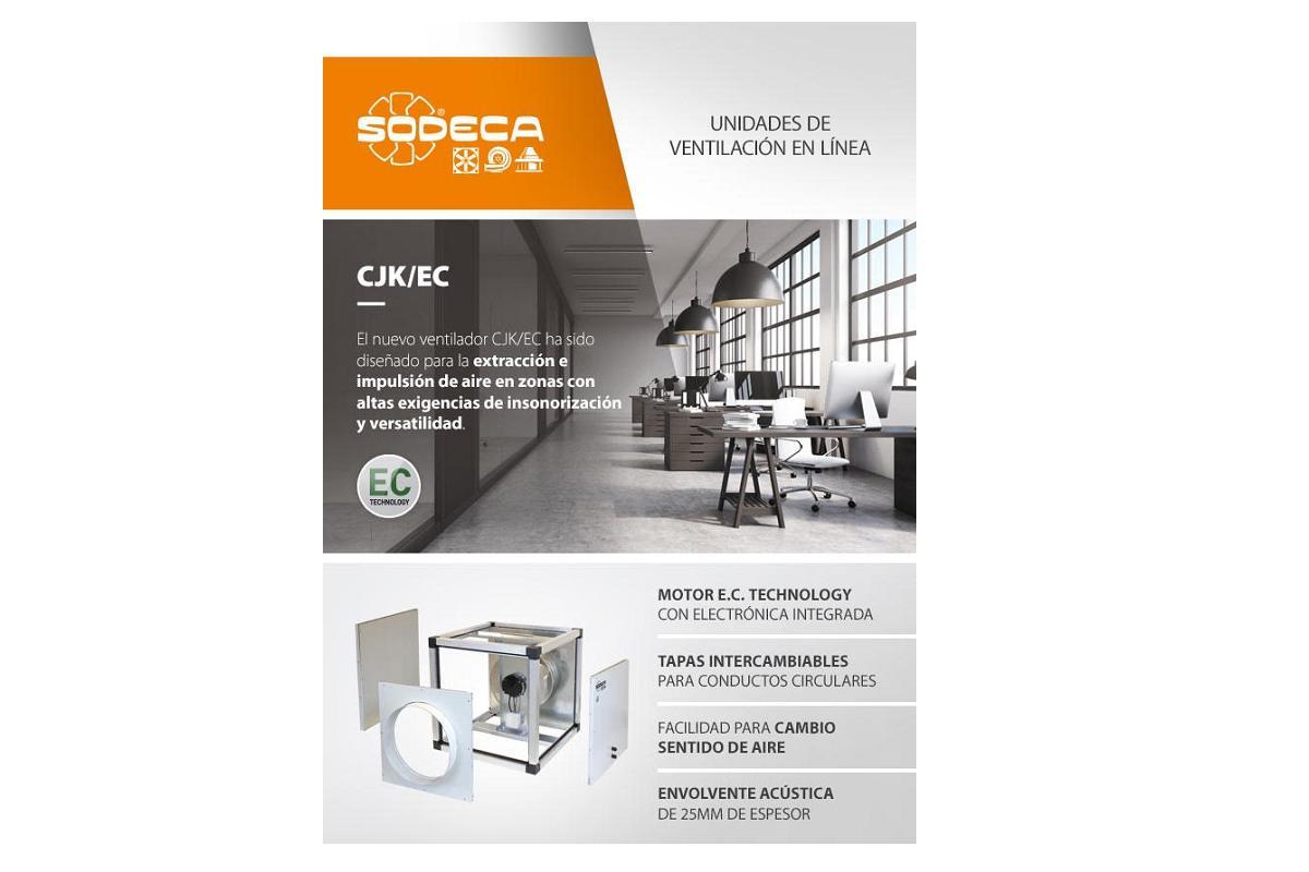 cjkec de sodeca unidades de ventilacin para conductos circulares con altas exigencias