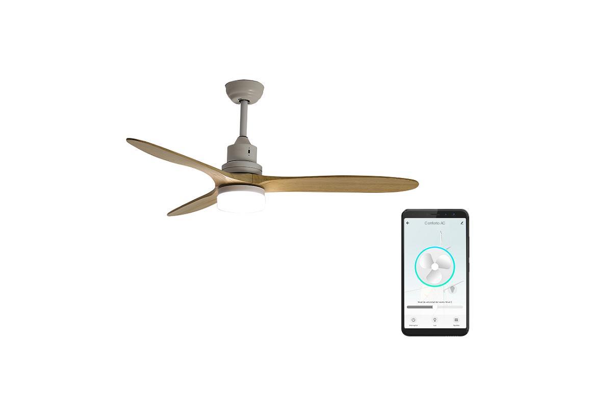 conforto dc y conforto ac de spc los ventiladores de techo inteligentes