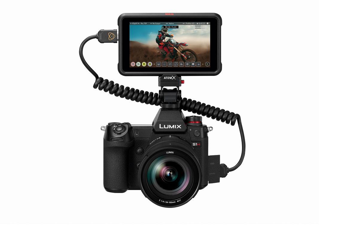 lumix s1h de panasonic cmara sin espejo capaz de grabar video en 6k
