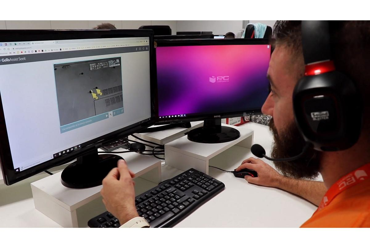 pccomponentes ofrece asistencia tcnica remota gratuita para quienes realicen teletrabajo