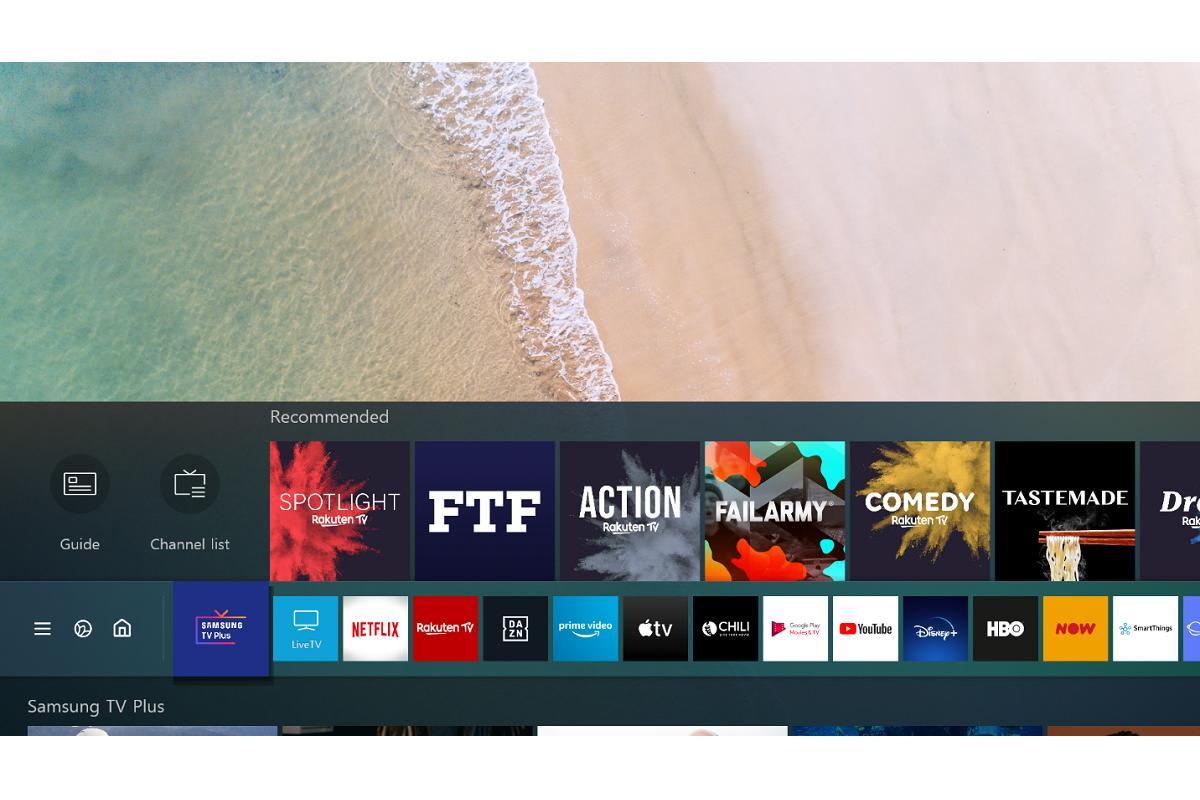 samsung tv plus ampla su programacin de televisin online gratuita
