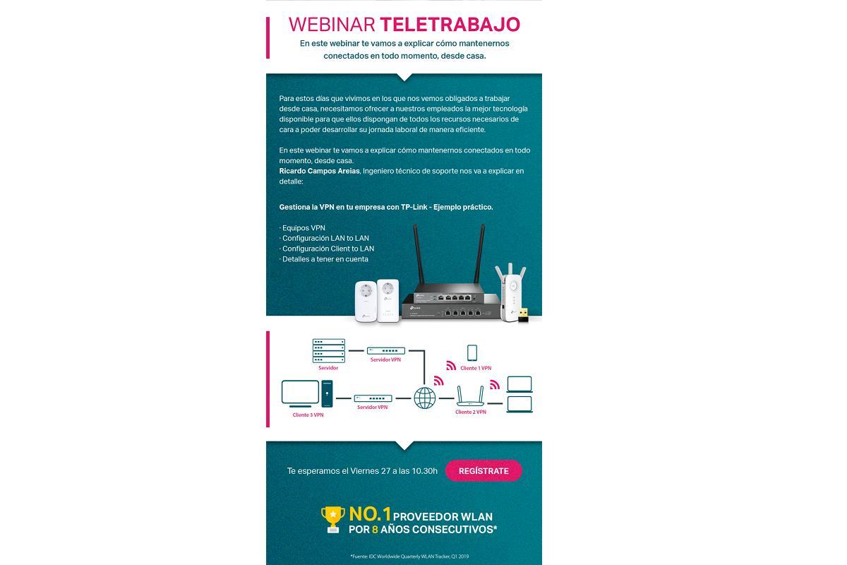 tplink ofrece un webinar gratuito para sacarle partido a la conexin desde casa