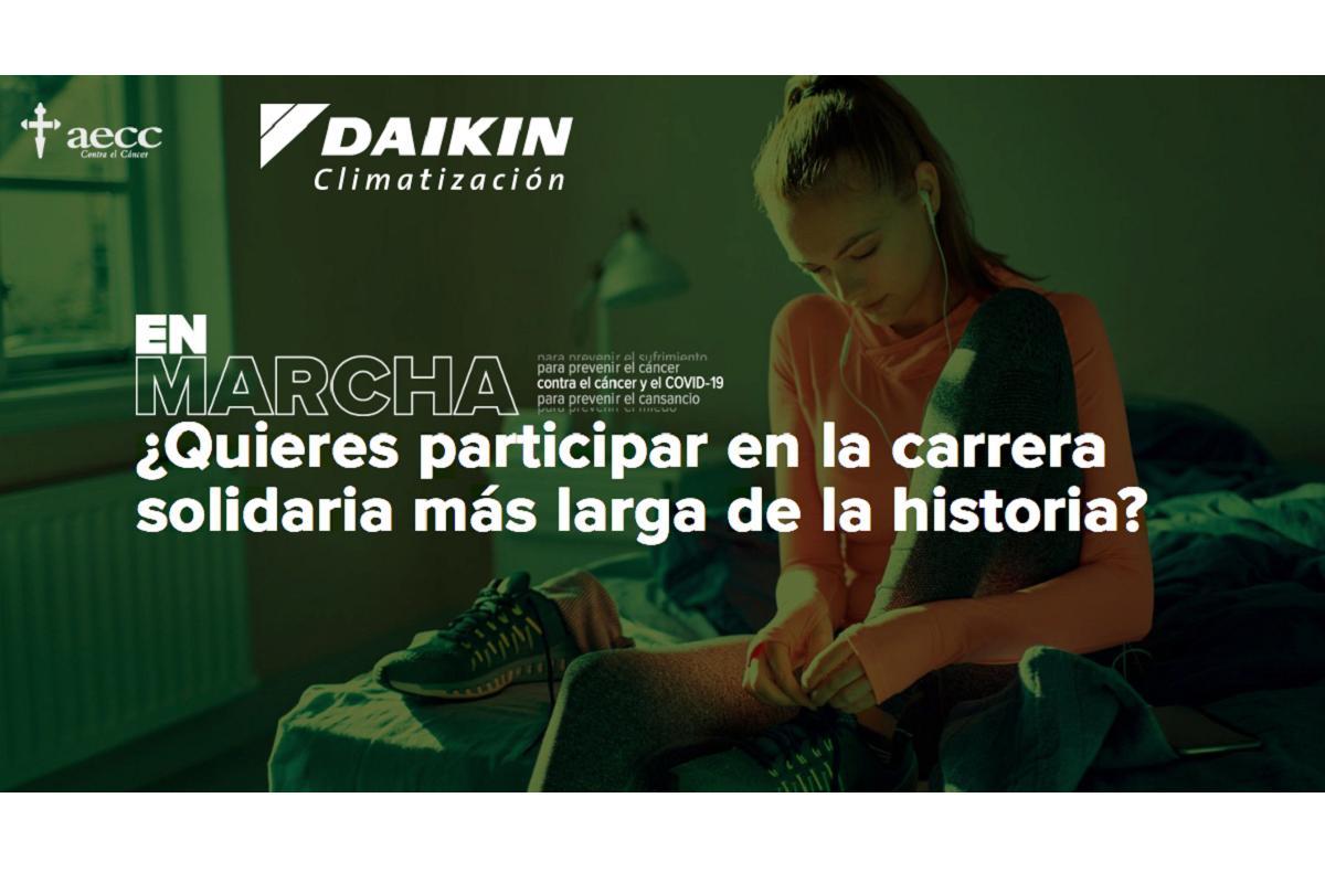 daikin se suma a la carrera ms larga de la historia organizada por la aecc