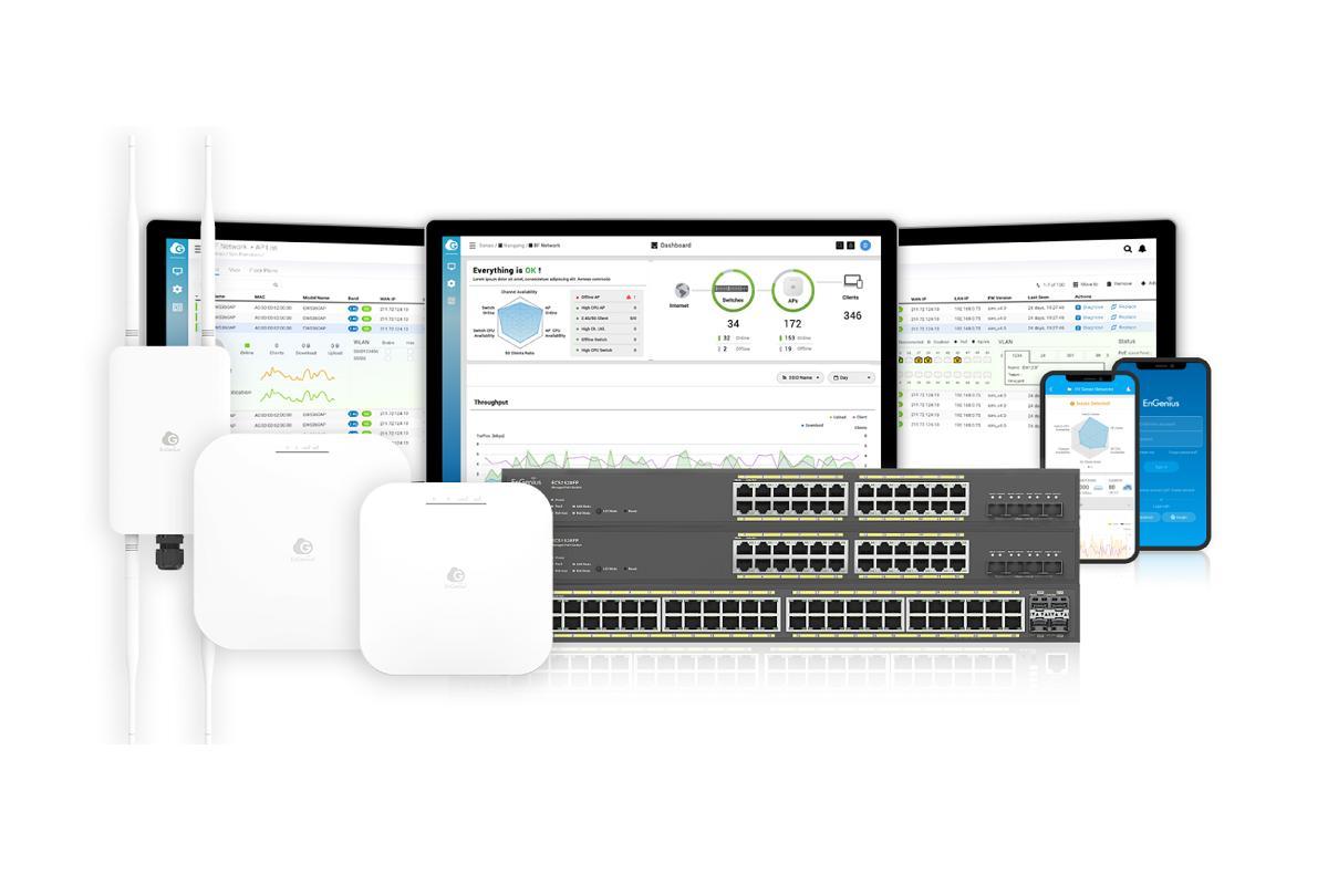 engenius aade nuevas funciones a su plataforma cloud para la administracin de redes