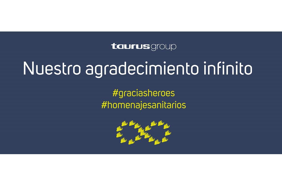 taurus group dona 600 productos valorados en 50000 euros a hospitales y residencias