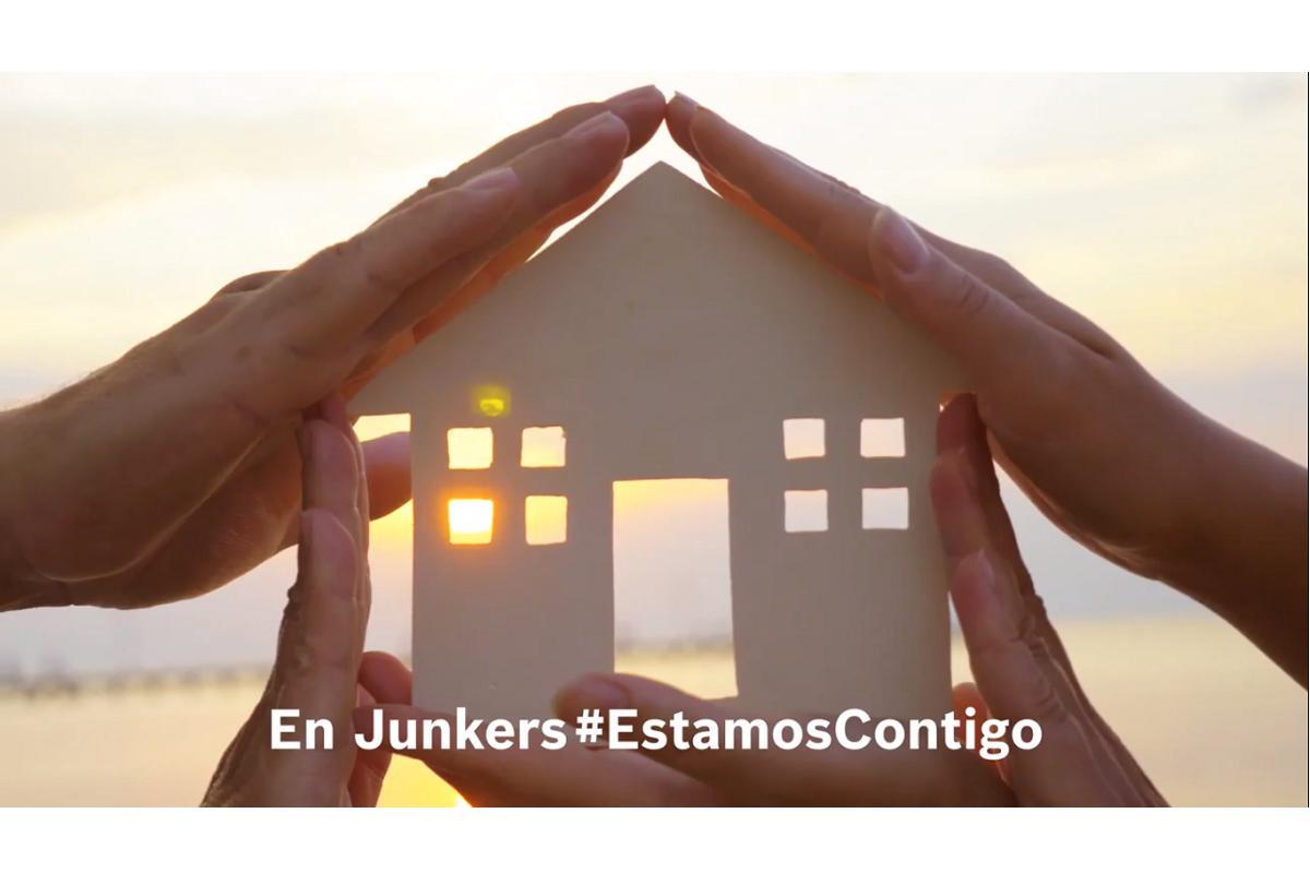 junkers nos invita a disfrutar de nuestro hogar en su vdeo estamoscontigo