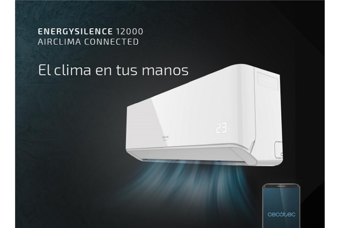 cecotec presenta energy silence su nueva gama de aire acondicionado