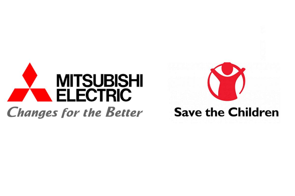 mitsubishi electric y save the children suman fuerzas contra el covid19