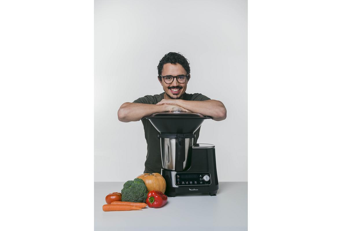 moulinex clickchef un robot de cocina automtico para preparar recetas al instante