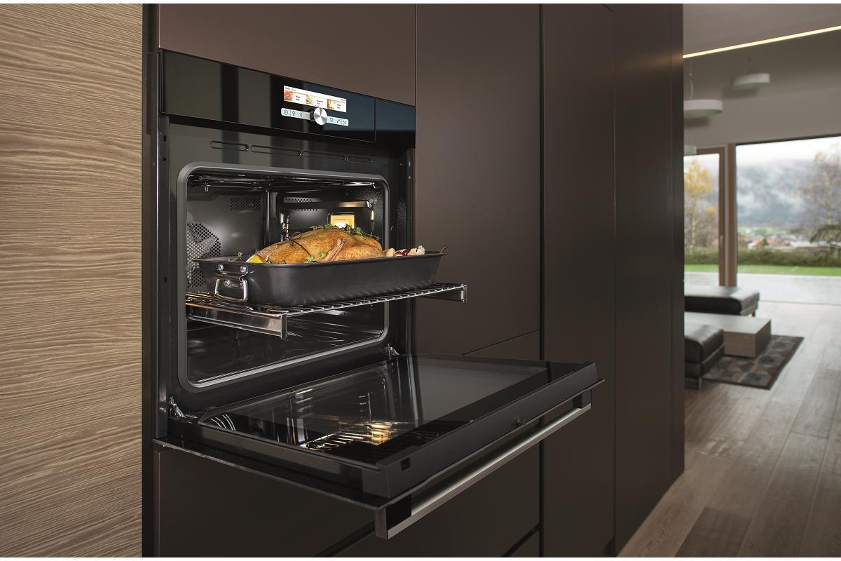 prepara ricos platos saludables y en familia con los hornos a vapor de hisense