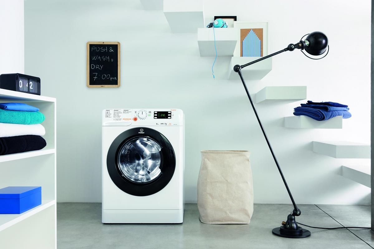 simplifica la colada en familia con las lavasecadoras de indesit