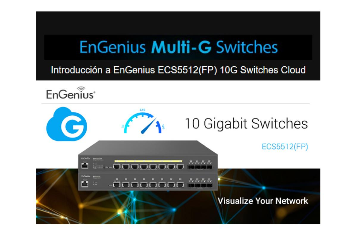 engenius dar a conocer su primer switch poe 10g baset durante un webinar
