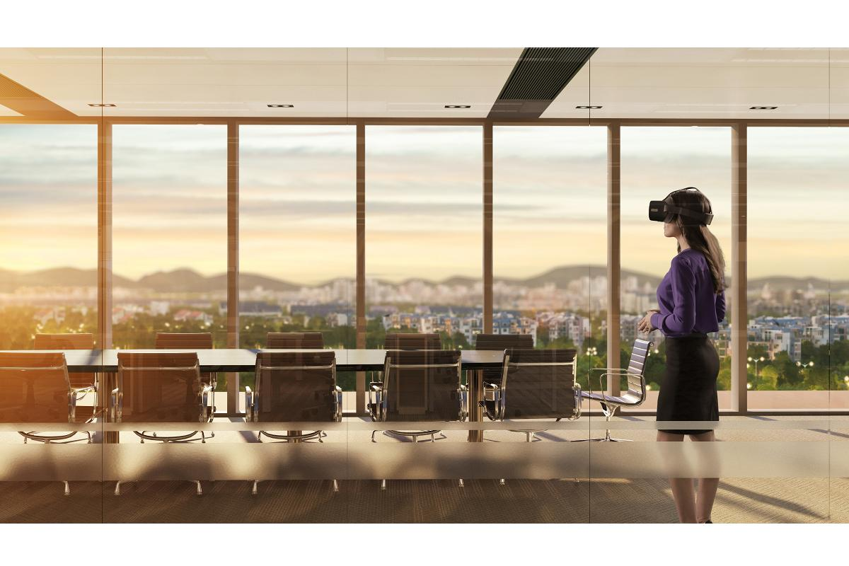 lenovo mirage vr s3 con thinkreality gafas de realidad virtual para empresas