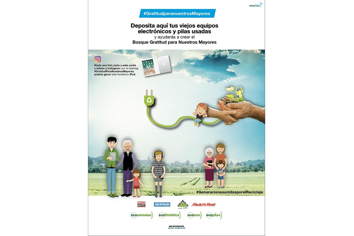recyclia crea una campaa de reciclaje para reforestar una zona de alto valor biolgico en madrid