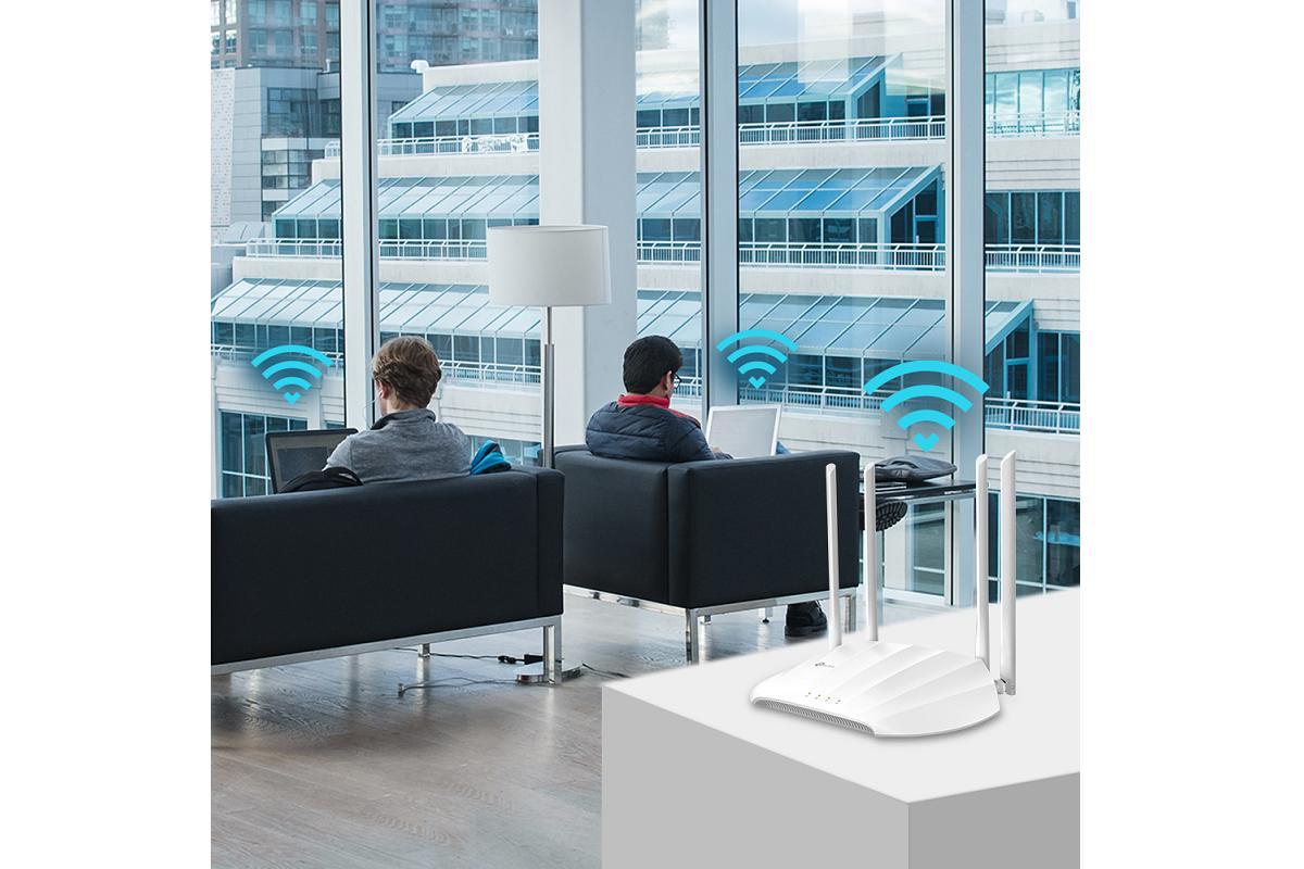 tplink lanza tlwa1201 un punto de acceso inalmbrico para teletrabajo y oficina