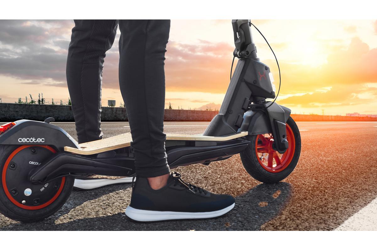 cecotec bongo serie s unlimited el patinete elctrico del futuro con seguridad reforzada