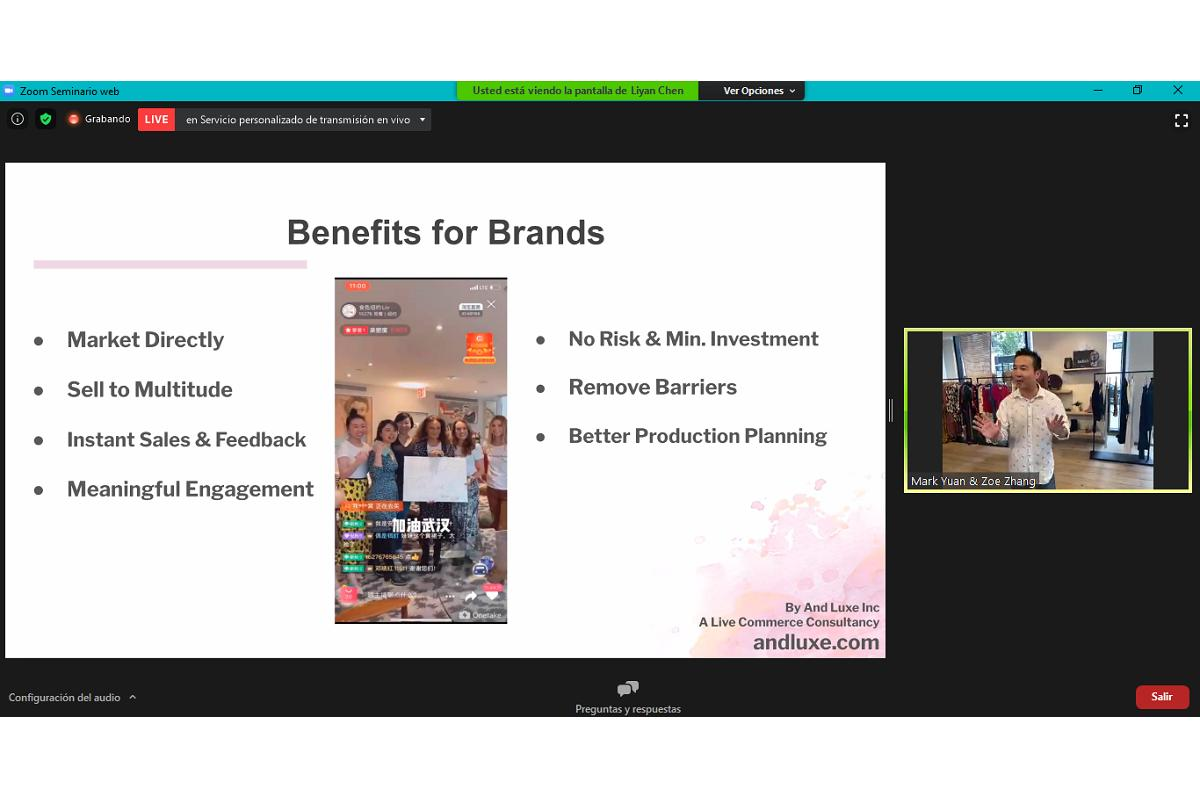 el livestreaming una herramienta con mucho potencial para conectar consumidores con marcas