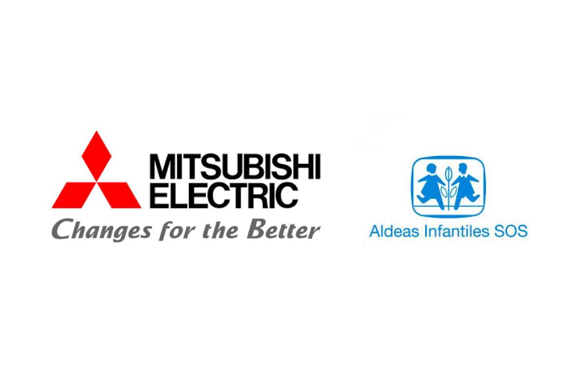 mitsubishi electric dona equipos de aire acondicionado a aldeas infantiles sos
