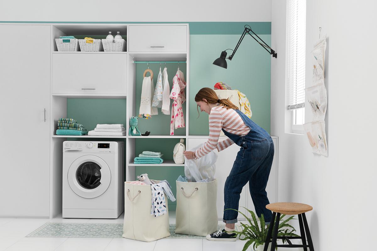 mytime de indesit la lavadora con tres ciclos completos en menos de una hora