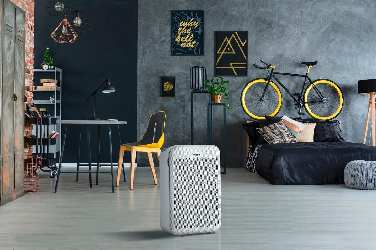 nueva gama de purificadores de aire de midea