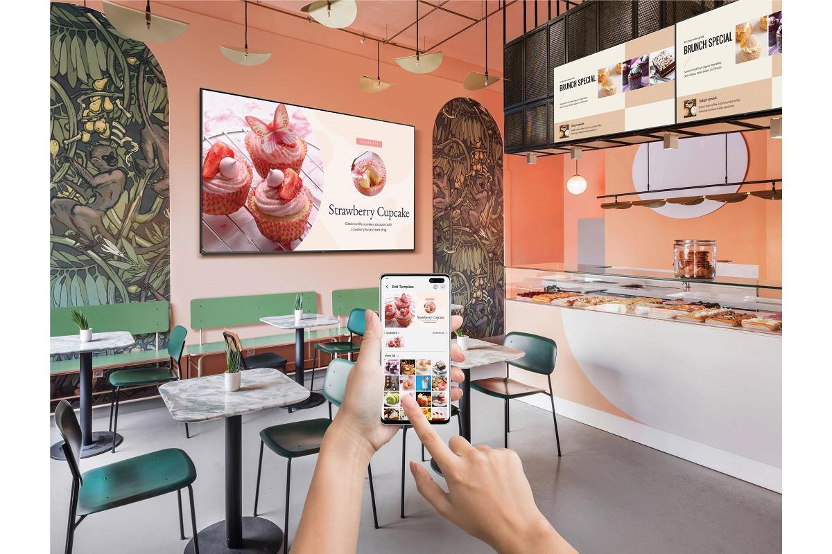 samsung business tv un paso ms en la sealizacin digital para empresas